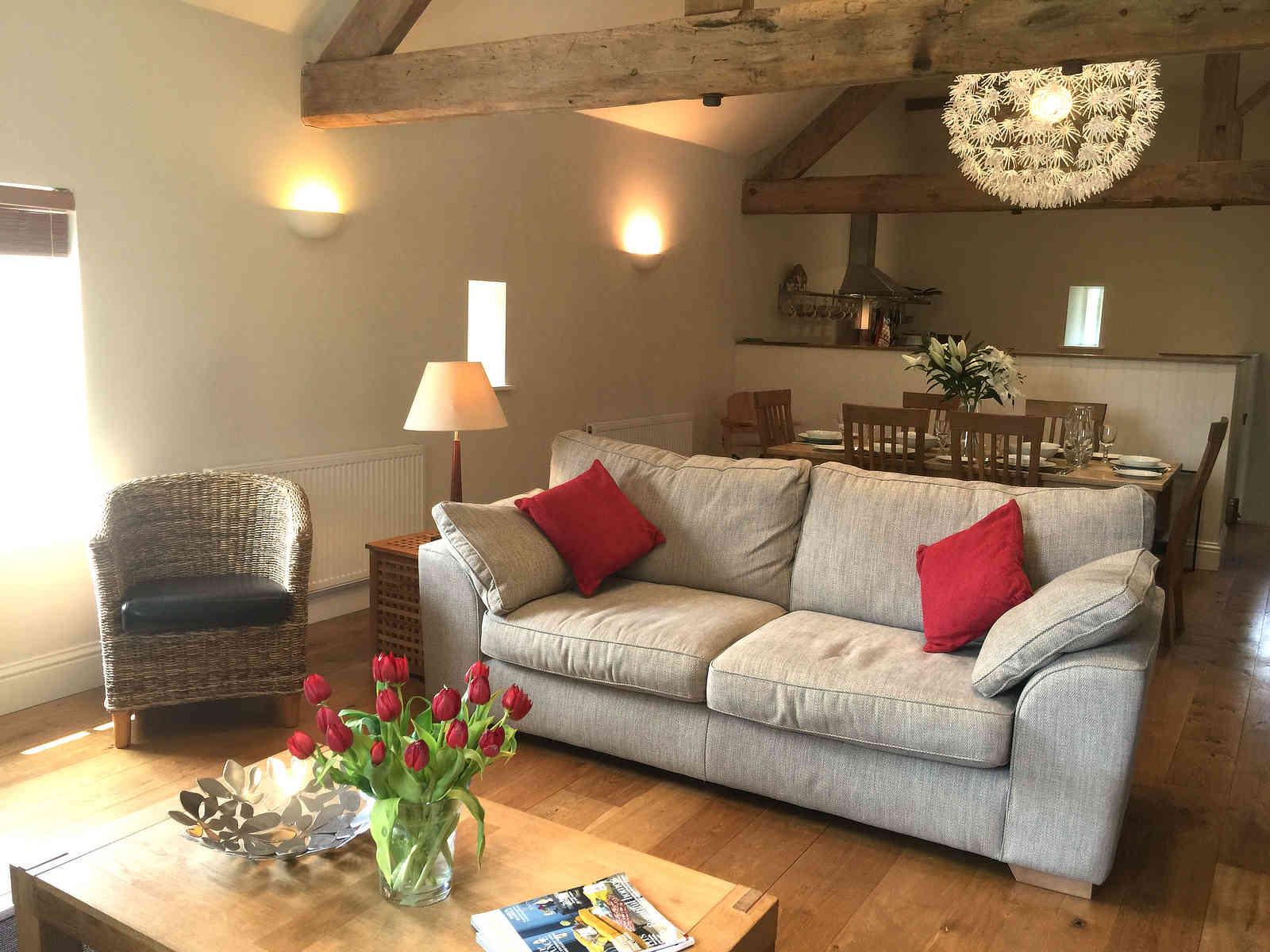 Ivy House Farm Living Room